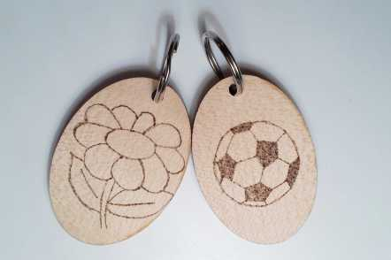 Key ring designs